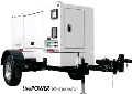 Where to rent GENERATOR, 45 KW TOW-BEHIND in Indianapolis IN